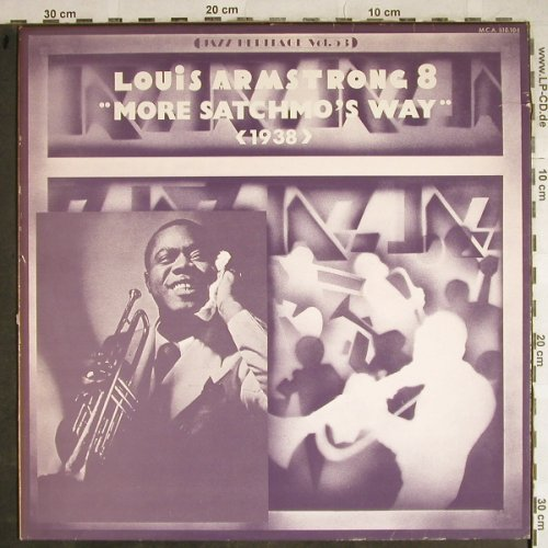 Armstrong,Louis: More Satchmo's Way, 1938, m-/vg+, MCA(MCA 510.104), F,  - LP - H8542 - 5,00 Euro