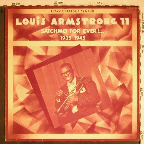 Armstrong,Louis: Satchmo for Ever!...(11) 1935-45, MCA(MCA 510.115), F, m-/vg+, 1974 - LP - H8543 - 5,00 Euro
