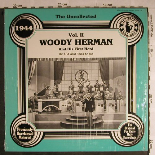 Herman,Woody  & his first Herd: Vol.2-The Uncollected, Hindsight Records(HSR-134), US, 1979 - LP - H8854 - 9,00 Euro