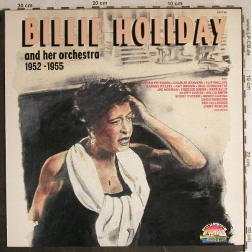 Holiday,Billie  and her Orchester: 1952-1955, Giants Of Jazz(LPJT 98), I, 1989 - LP - H8905 - 7,50 Euro
