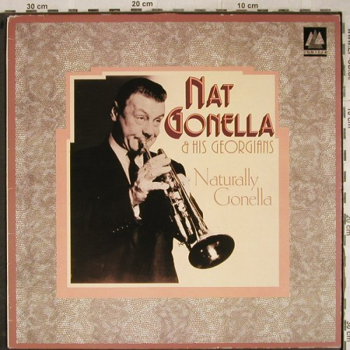 Gonella,Nat and his Georgians: Naturally Gonella,rec.1935, m-/vg+, Conifer Happy Days(CHD 129), UK, 1986 - LP - H9171 - 5,50 Euro