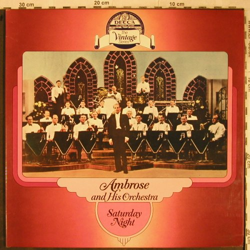 Ambrose and his Orchestra: Saturday Night, Foc, woc,stoc, Decca(DDV 5003/4), UK,  - 2LP - H9173 - 7,50 Euro