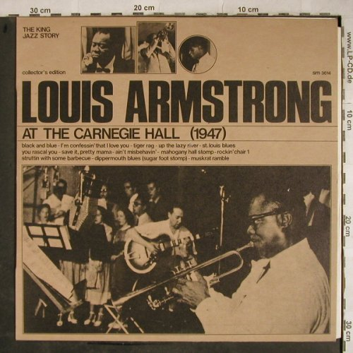 Armstrong,Louis: At Carnegie Hall (1947), woc, stoc, Joker(SM 3614), I,  - LP - H9189 - 4,00 Euro