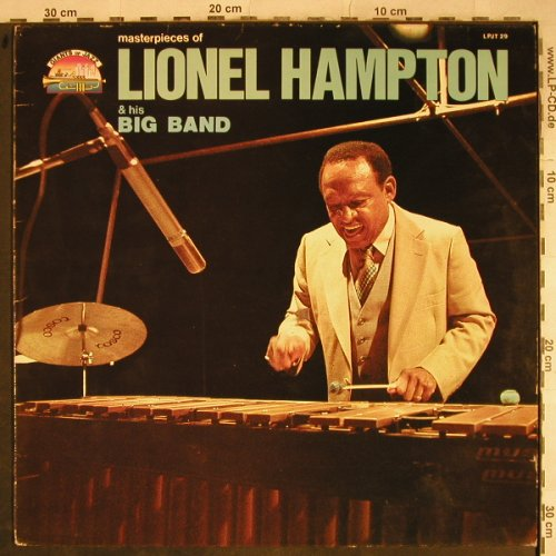 Hampton,Lionel & his Big Band: Masterpieces Of, Giants Of Jazz(LPJT 29), I, 1985 - LP - H9283 - 6,00 Euro