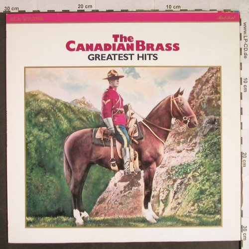 Canadian Brass: Greatest Hits, RCA Victor Red Seal(RL85628), D, 1988 - LP - H948 - 6,00 Euro
