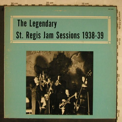 V.A.The Legendary St.Regis Jam Sess: 1938-39,Marty Marsala...G.Wettling, Alamac Records(QSR 2445), US,  - LP - H9576 - 7,50 Euro