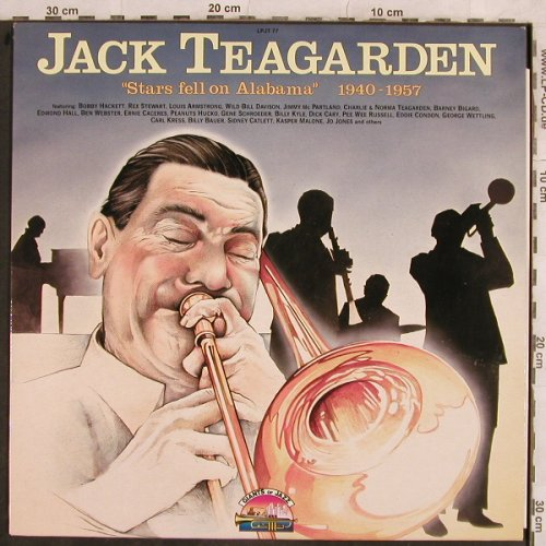 Teagarden,Jack: Stars Fell On Alabama 1940-1957, Giants Of Jazz(LPJT 77), I, 1988 - LP - H9975 - 5,00 Euro