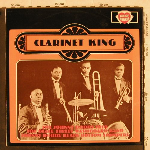 Dodds,Johnny: Clarinet King, Ace of Hearts(AH 169), UK, Mono, 1968 - LP - H9984 - 6,50 Euro