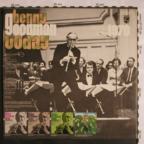 Goodman,Benny: Today (Recorded London 1970), Philips(6308 023), D,  - LP - X1131 - 5,50 Euro