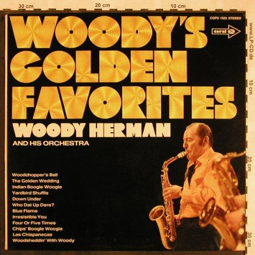 Herman,Woody & his Orchestra: Woody's Golden Favorites, Coral(COPS 1503), D,  - LP - X1347 - 6,50 Euro