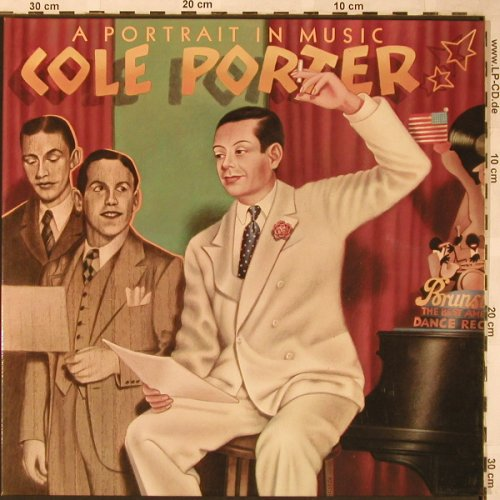 V.A.Cole Porter: A Portrait In Music, Foc, MCA(6.28368 DP), D, 1976 - 2LP - X1632 - 6,00 Euro