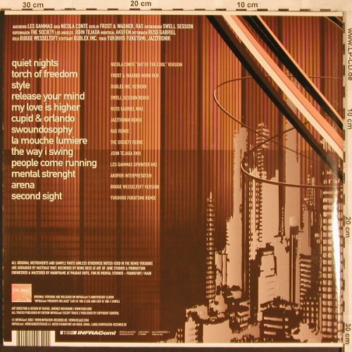 V.A.Re:Jazz: (re:mix), Foc, INFRACom!(IC108-1), EEC, 2003 - 3LP - X1800 - 20,00 Euro