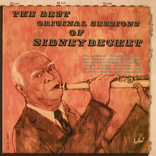 Bechet,Sidney: The Best Orig.Sessions Of,Foc, Festival(ALB 139), F, WOC,  - 2LP - X2413 - 7,50 Euro