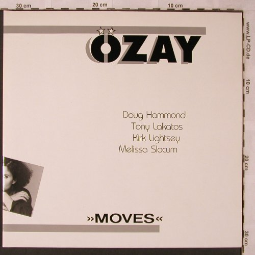 Özay: Moves, Foc, Entente(833 082-928), D, 1988 - LP - X2647 - 7,50 Euro