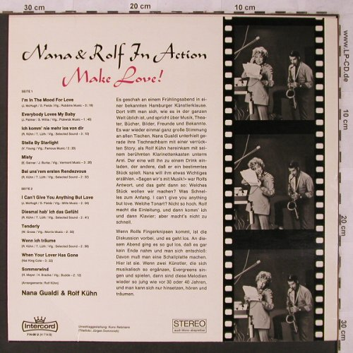 Gualdi,Nana & Rolf Kühn: Nana & Rolf in Action,Make Love!, Intercord(714-08 U), D,  - LP - X2682 - 7,50 Euro