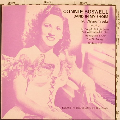 Boswell,Connie: Sand in my Shoes, m-/vg+, MCA(MCL 1689), UK, 1982 - LP - X274 - 6,00 Euro