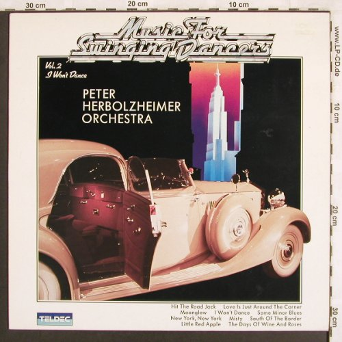 Herbolzheimer Orch.,Peter: Music For Swinging Dancers Vol.2, Teldec(6.25867 AP), D, 1984 - LP - X3218 - 7,50 Euro