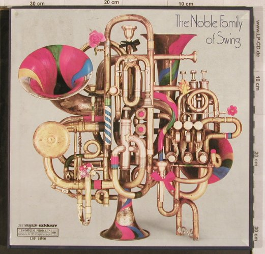 V.A.Zeitmagazin Exklusiv: The Noble Family Of Swing, CBS(LSP 14 500), NL, 1974 - 5LP - X337 - 12,50 Euro