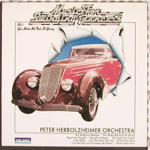 Herbolzheimer Orch.,Peter: Music For Swinging Dancers Vol.1, Teldec(6.25643 AP), D, 1984 - LP - X3519 - 7,50 Euro