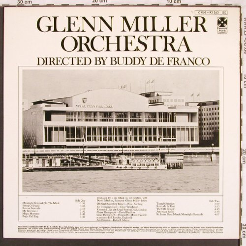 Miller,Glenn - Orchestra: Directed by Buddy Defranco, Paramount(C 062-92 263), D,  - LP - X3752 - 6,00 Euro