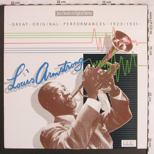 Armstrong,Louis: Great Original Performances 1923-31, BBC(REB 597), UK, 1985 - LP - X3996 - 6,00 Euro