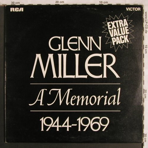 Miller,Glenn: In Memorial 1944-1969, Foc, m-/vg+, RCA Victor(GM.1), UK,Mono, 1970 - 2LP - X4000 - 6,00 Euro