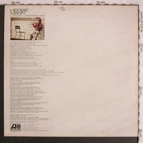 Mann,Herbie: London Underground, Atlantic(ATL 50 032), D, 1974 - LP - X4371 - 7,50 Euro