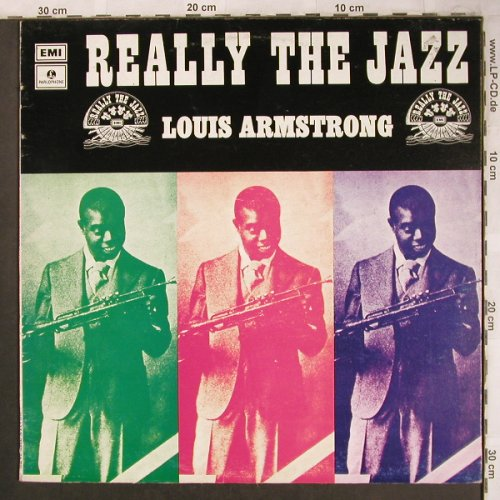 Armstrong,Louis: Really the Jazz, Parlophon/EMI(C 034-05669), I,  - LP - X4641 - 6,00 Euro
