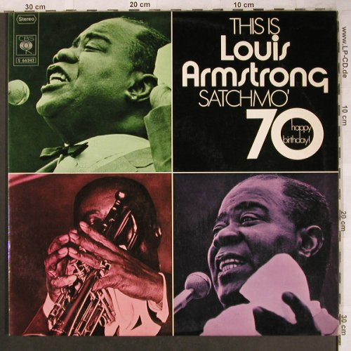 Armstrong,Louis: This Is ..., Satchmo' 70, Foc, CBS(S 66242), D,  - 2LP - X4648 - 7,50 Euro