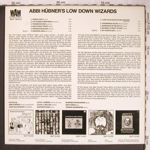 Hübner,Abbi & Lowdown Wizards: From New Orleans To Hamburg, WAM(MLP 15 453), D, 1972 - LP - X4809 - 7,50 Euro