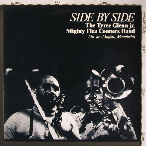 Tyree Glenn jr. Mighty Flea Conners: Side by Side,Live im Milljöh,Mannh., Joke(A-5592), D, 1980 - LP - X4843 - 9,00 Euro