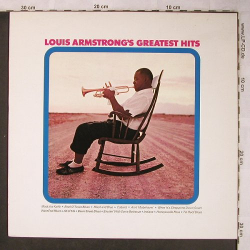 Armstrong,Louis: Greatest Hits,Electronically reChan, CBS(CBS 32030), UK, Ri, 1971 - LP - X5084 - 6,00 Euro