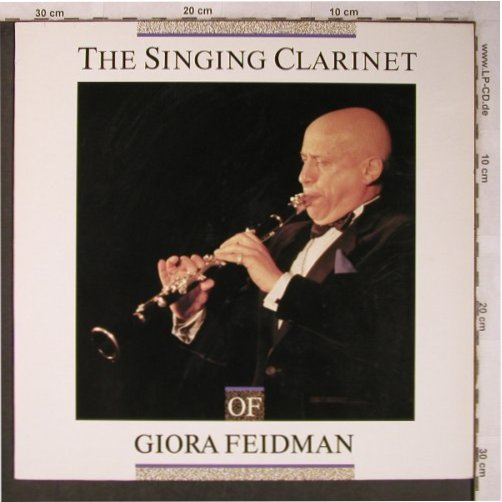 Feidman,Giora: The Singing Clarinet, Pläne(88 581 G), D, 1988 - LP - X5173 - 7,50 Euro