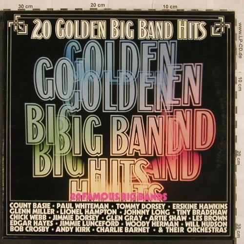 V.A.20 Golden Big Band Hits: Count Basie...Paul Whiteman, 20 Tr., MCA(6.22442 AP), D, 1976 - LP - X538 - 5,50 Euro