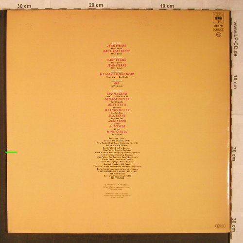 Davis,Miles: We want Miles, Foc, m-/vg+, CBS(88 579), NL, 1982 - 2LP - X5603 - 15,00 Euro