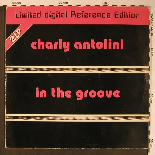 Antolini,Charly: In The Groove, Foc,rec.1972, m-/VG+, MPS(inak 806), D, Ri, 1980 - LP - X5988 - 20,00 Euro