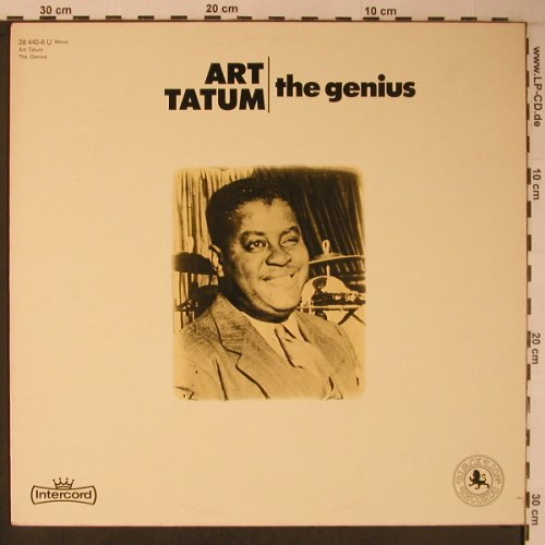 Tatum,Art: The Genius, hist. rec., Black Lion(28 440-6 U), D, Ri, 1967 - LP - X6254 - 6,00 Euro
