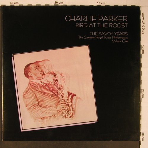 Parker,Charlie: Bird at Roost,Savoy Years,Vol.1,Foc, Savoy(WL70541(2)), D,like new, 1985 - 2LP - X6430 - 24,00 Euro