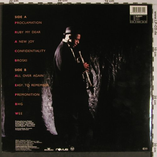 Hargrove,Roy: Diamonds in the Rough, like new, Novus/RCA(PL90471), D, 1990 - LP - X6438 - 50,00 Euro
