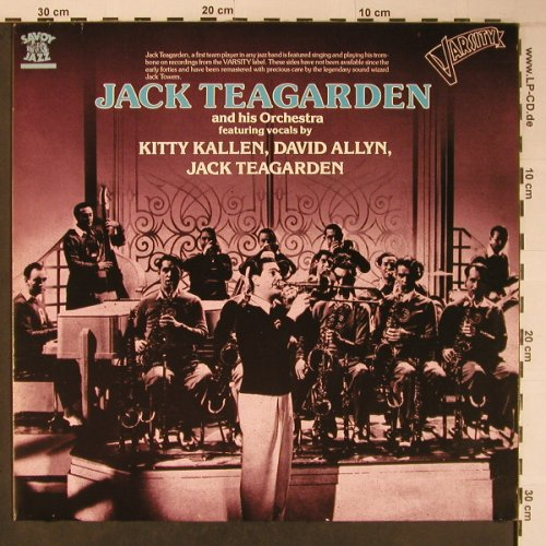 Teagarden,Jack & his Orch.: Varsity Sides, like new, Savoy(WL70827), D, 1986 - LP - X6459 - 9,00 Euro