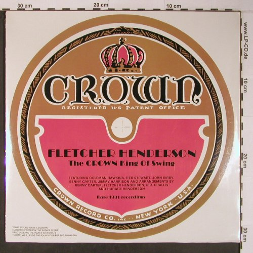 Henderson,Fletcher: The Crown King of Swing, FS-New, Savoy(WL70543), D,Cover~~~, 1985 - LP - X6472 - 20,00 Euro
