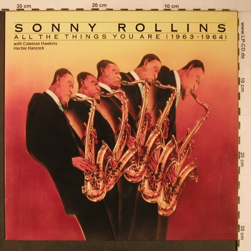 Rollins,Sonny: All the Things you are(1963-1964), Bluebird(NL82179), D, Ri, 1990 - LP - X6496 - 20,00 Euro