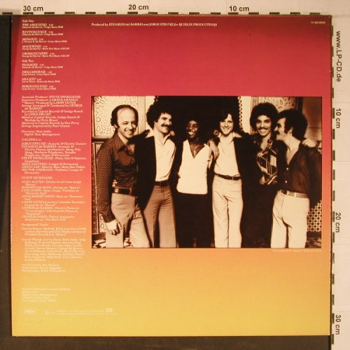 Caldera: Time and Change, Capitol(1A 064-85593), D, 1978 - LP - X6499 - 15,00 Euro