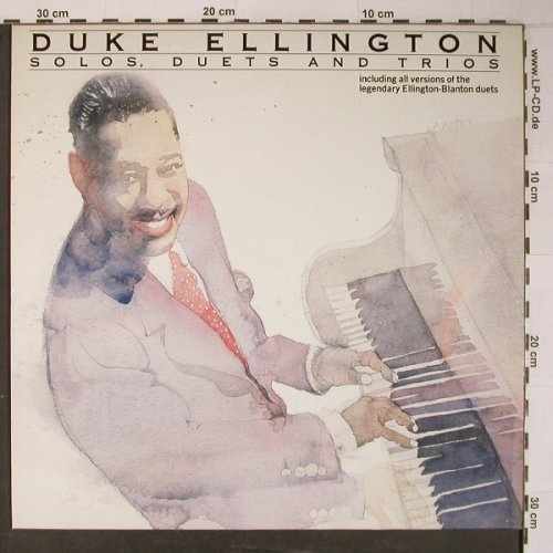 Ellington,Duke: Solos,Duets And Trios, like new, Bluebird/RCA(NL82178), D,Ri, 1990 - LP - X6500 - 15,00 Euro