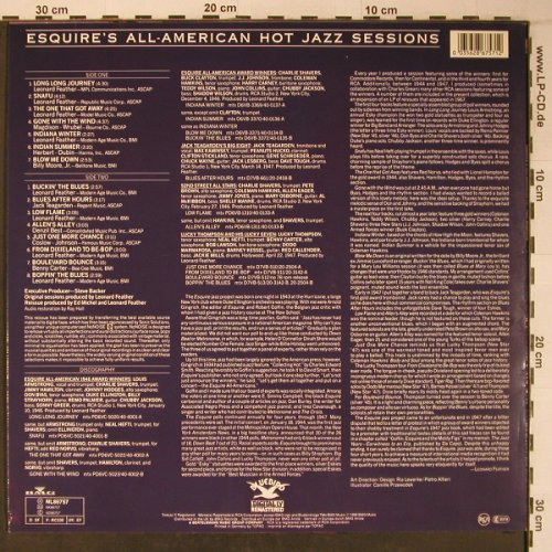 Esquire's All-American: Hot Jazz Sessions, like new, Bluebird(NL86757), D, 1988 - LP - X6503 - 13,00 Euro