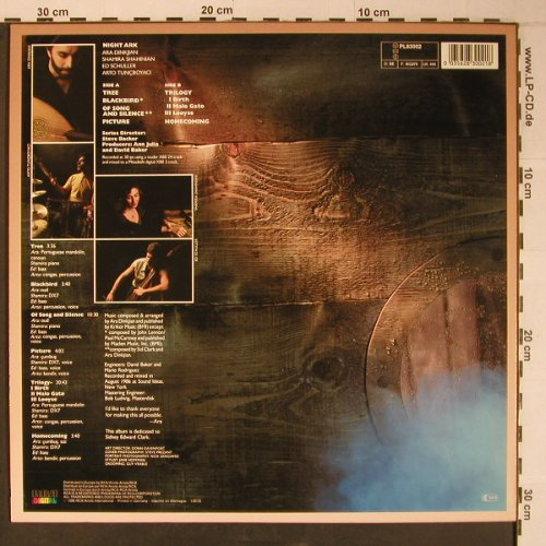 Night Ark: Picture, Novus(PL83002), D, 1986 - LP - X6508 - 16,50 Euro