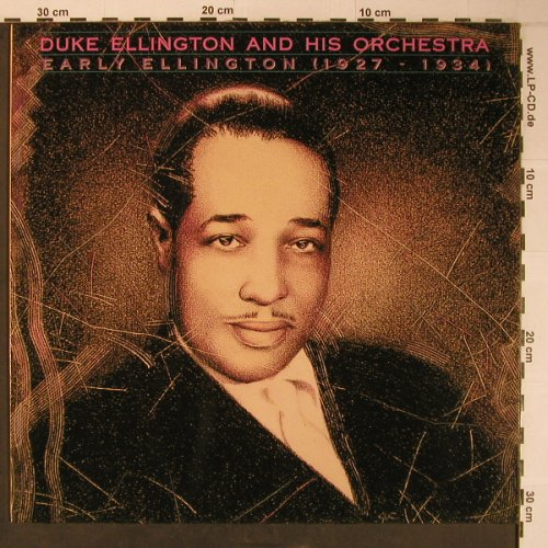 Ellington,Duke & His Orchestra: Early Elligton (1927-1934), Bluebird(NL86852), D, 1989 - LP - X6509 - 12,50 Euro
