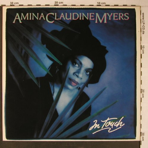 Myers,Amina Claudine: In Touch, Novus(PL 83064), D, 1989 - LP - X6518 - 9,00 Euro