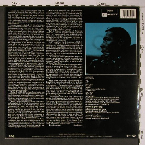Morgan,Lee / Hank Mobley: A-1 The Savoy Session, Savoy(WL70532), D, 1985 - LP - X6610 - 29,00 Euro