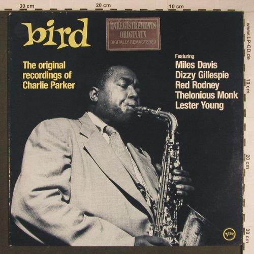 Parker,Charlie: bird-The Original Recordings of, Verve(837 176-1), F, m-/vg+, 1988 - LP - X6822 - 16,50 Euro